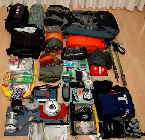 How to pack a backpack for camping