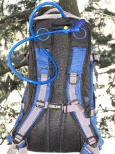 Hydration pack ladder hose